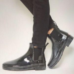 Hunter Chelsea Refined Gloss Rain Boots